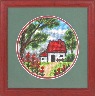 купить набор для вышивания крестом и бисером Кларт 8-054 И снова лето