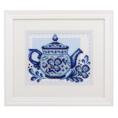купить набор для вышивания крестом и бисером Кларт 8-181 Волшебное чаепитие