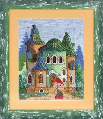 купить набор для вышивания крестом и бисером Кларт 8-074 Заходите в гости