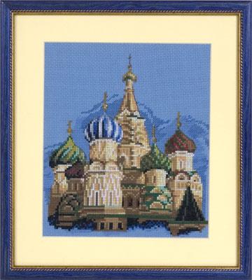 купить набор для вышивания крестом и бисером Кларт 7-096 Собор Василия Блаженного
