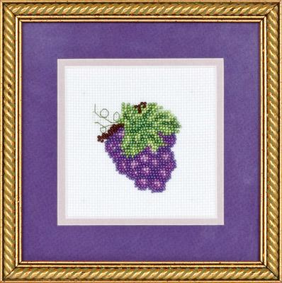купить набор для вышивания крестом и бисером Кларт 8-067 Виноградик