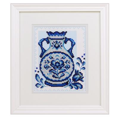 купить набор для вышивания крестом и бисером Кларт 8-180 Синий перезвон