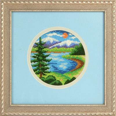 купить набор для вышивания крестом и бисером Кларт 8-106 У озера