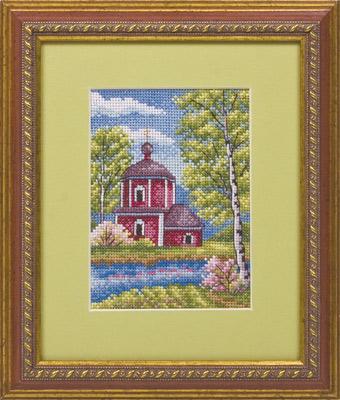 купить набор для вышивания крестом и бисером Кларт 8-044 Весенний денек