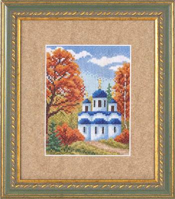 купить набор для вышивания крестом и бисером Кларт 8-026 Осенний денек
